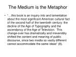 the medium is the metaphor5