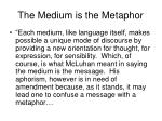 the medium is the metaphor6