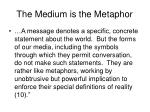 the medium is the metaphor7