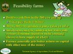 feasibility farms
