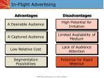 in flight advertising