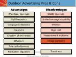 outdoor advertising pros cons