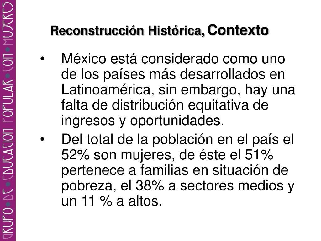 Reconstrucción Histórica,
