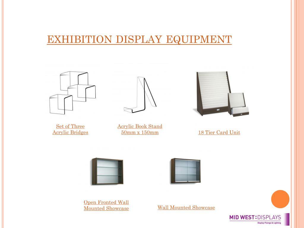 exhibition display equipment