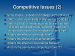 competitive issues 2