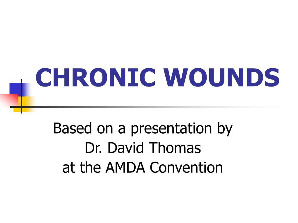 chronic wounds l.