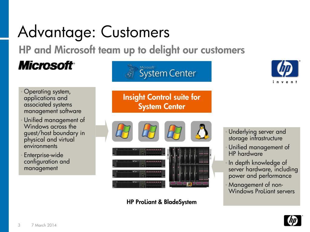 Advantage: Customers