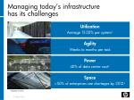 managing today s infrastructure has its challenges