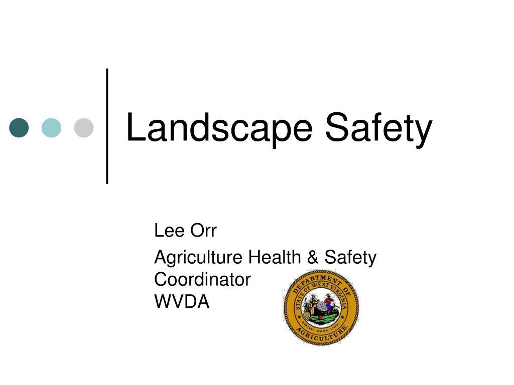 landscape safety l.