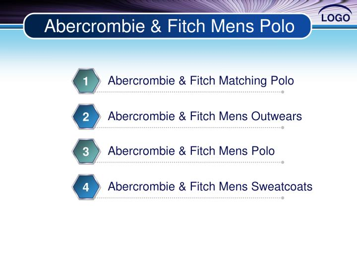 Abercrombie fitch mens polo
