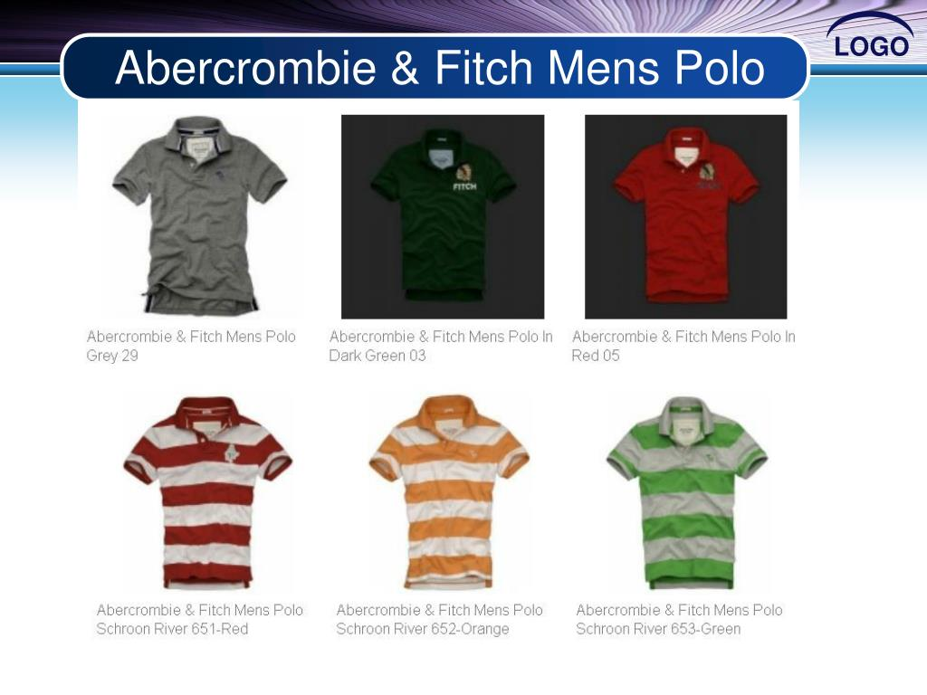 Abercrombie & Fitch Mens Polo