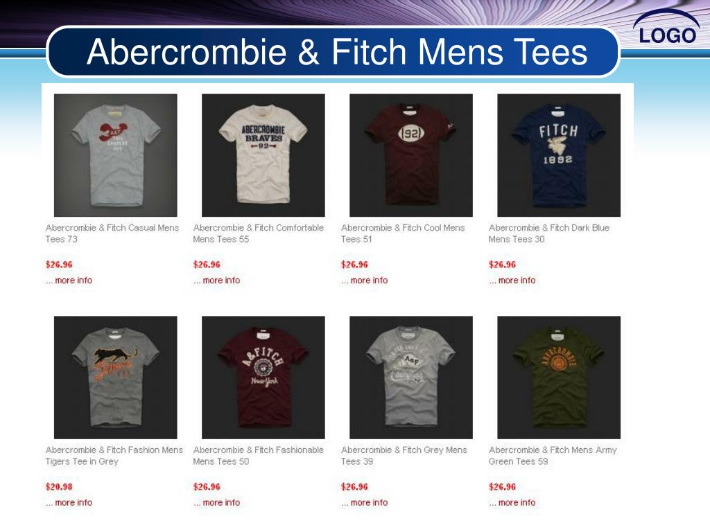 Abercrombie & Fitch Mens Tees