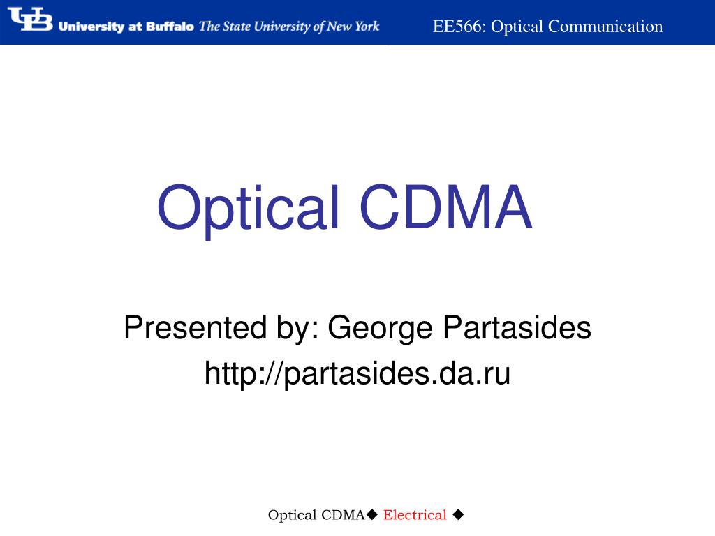 Optical CDMA