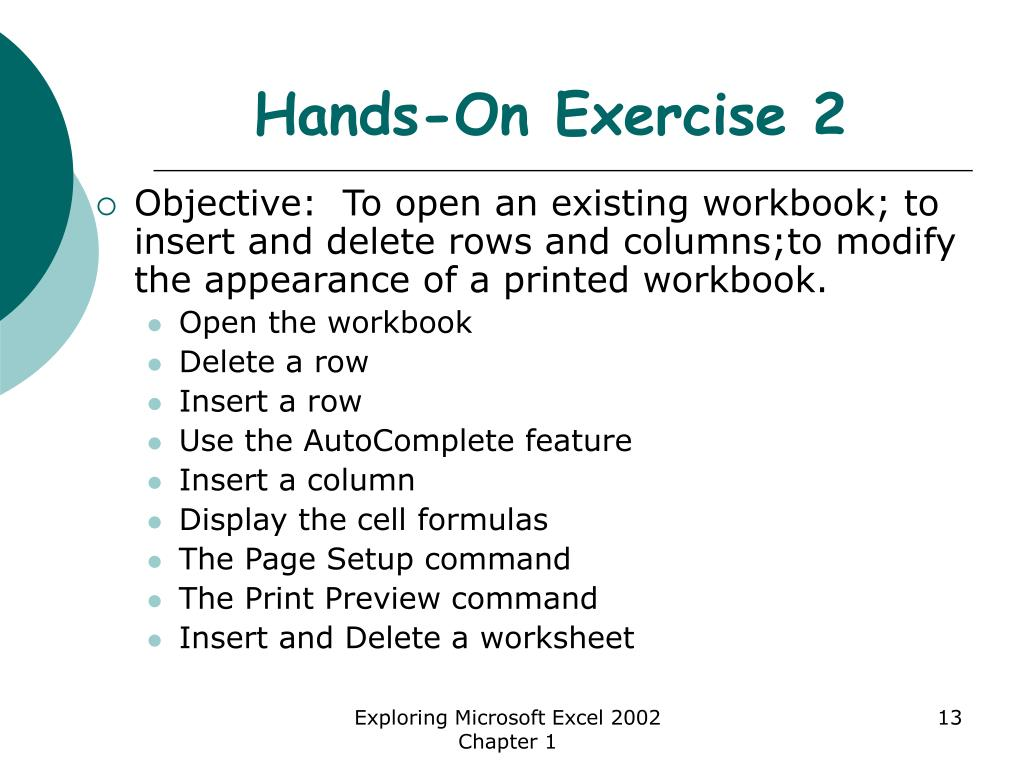 Hands-On Exercise 2