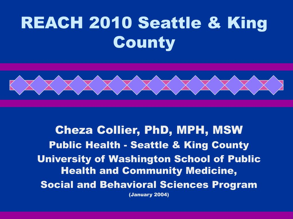 reach 2010 seattle king county l.