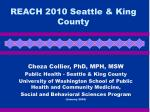 reach 2010 seattle king county