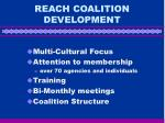 reach coalition development