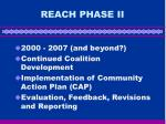 reach phase ii