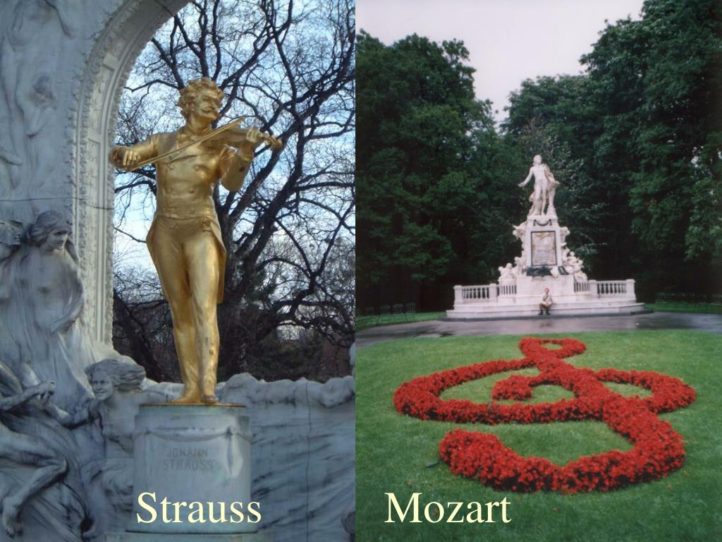 Strauss           Mozart