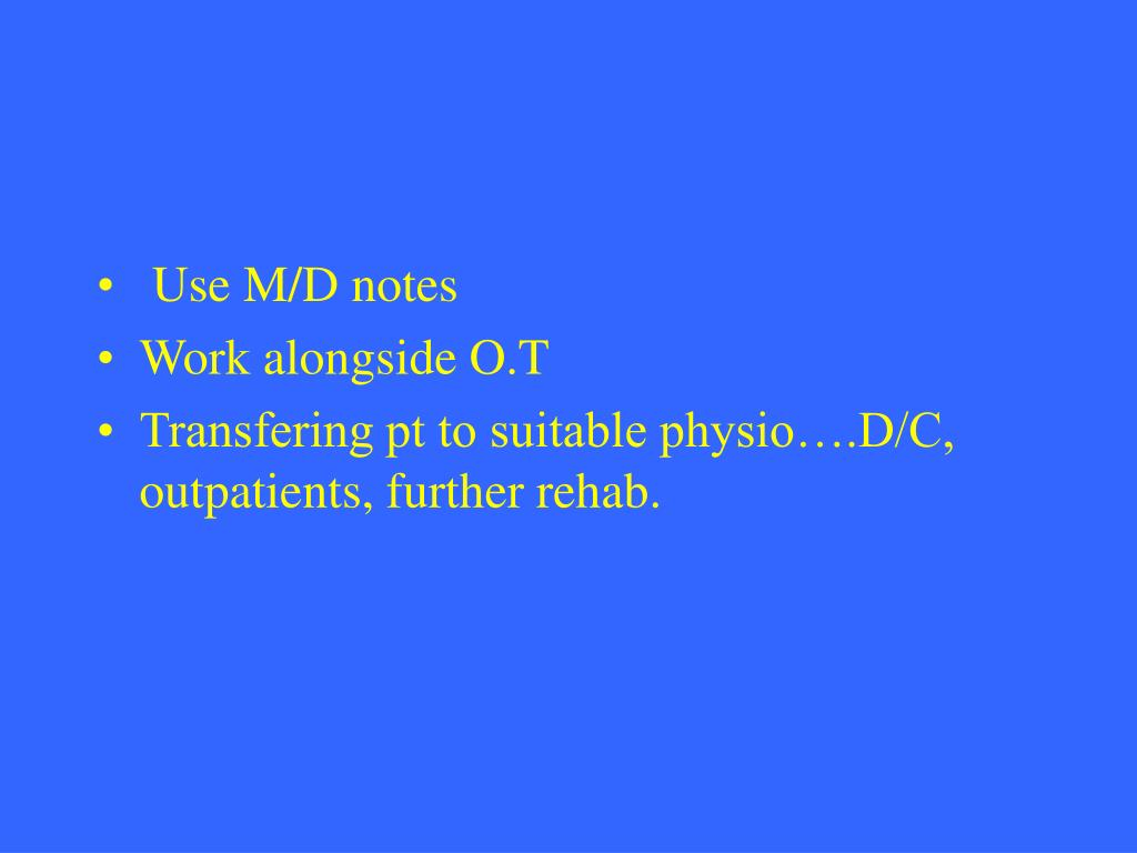 Use M/D notes
