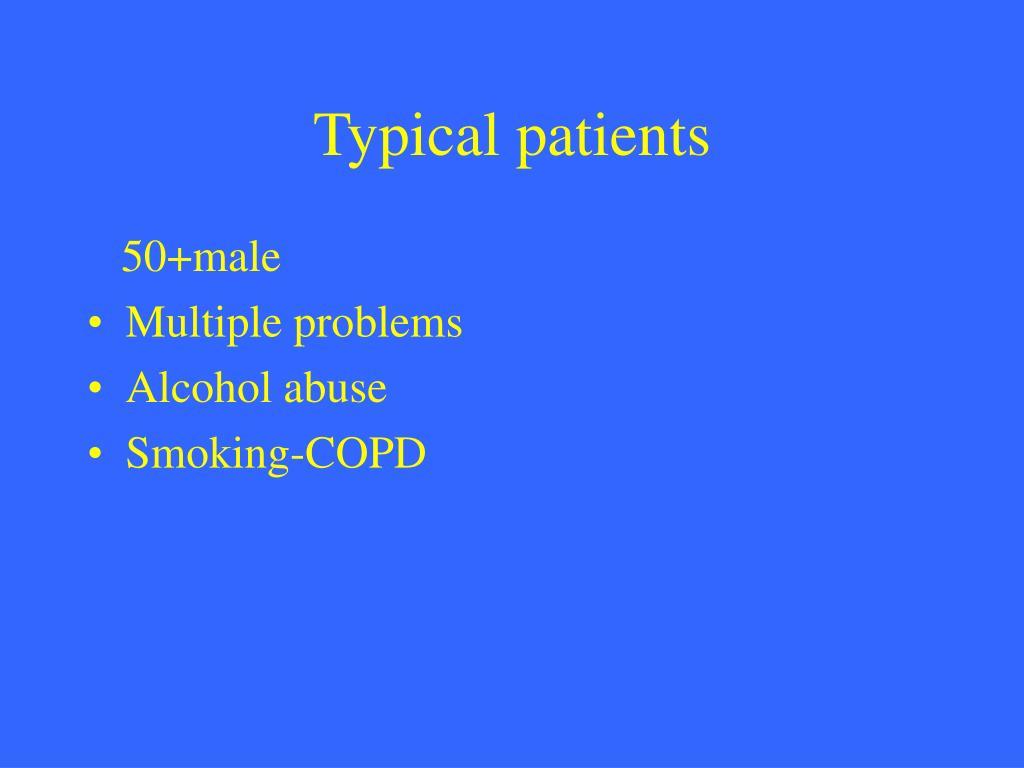 Typical patients