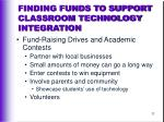 finding funds to support classroom technology integration77