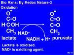 bio rxns by redox nature 3