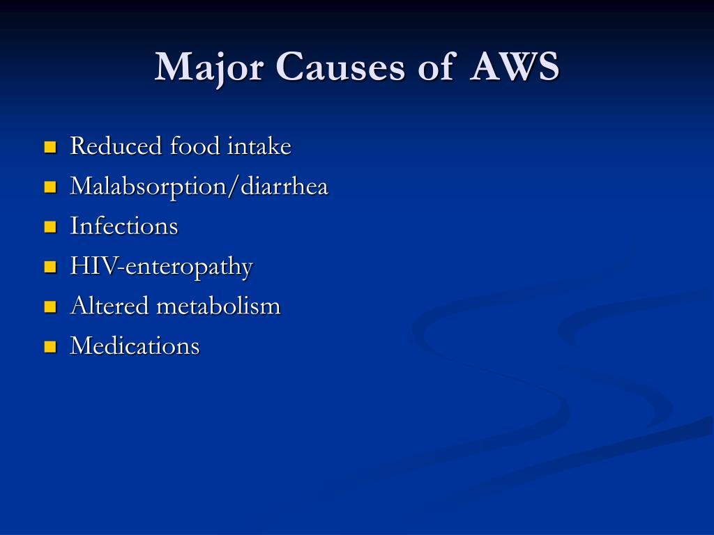 Major Causes of AWS
