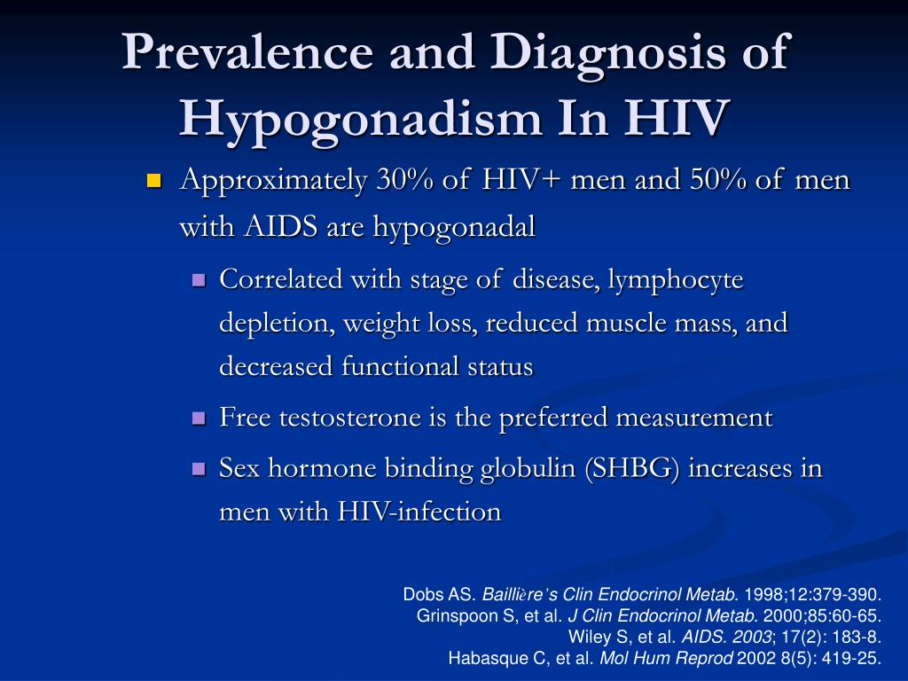 Prevalence and Diagnosis of