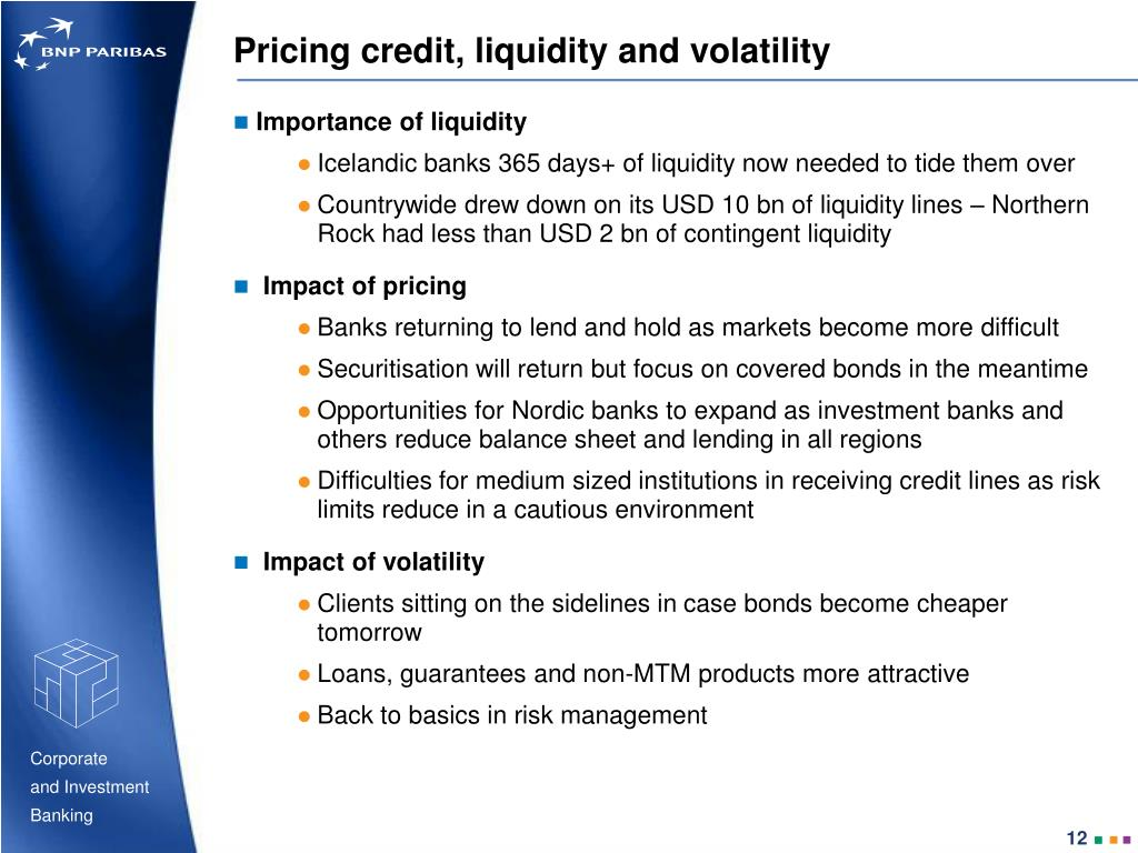 Pricing credit, liquidity and volatility
