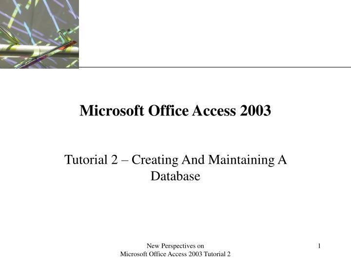 microsoft office access 2003 n.