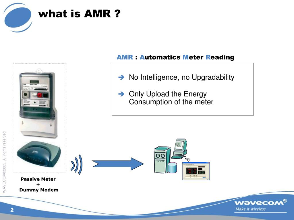 what is AMR ?