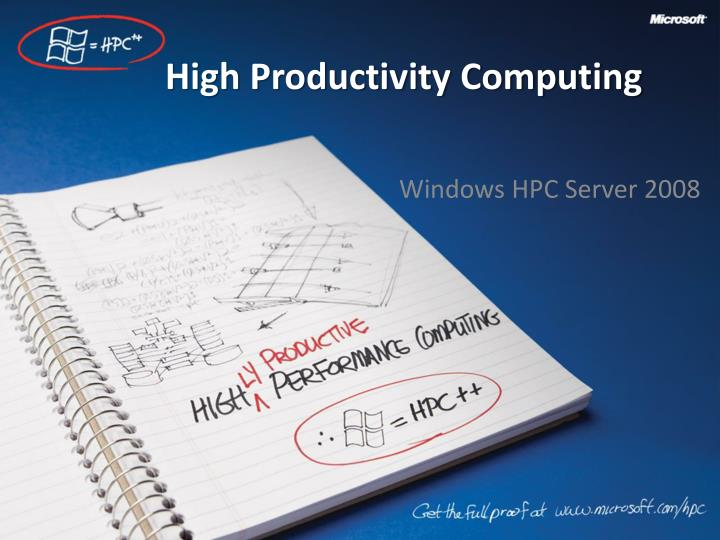 high productivity computing n.