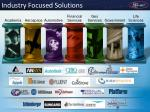 industry focused solutions