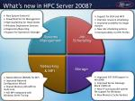 what s new in hpc server 2008