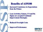 benefits of as91007