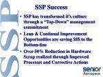 ssp success