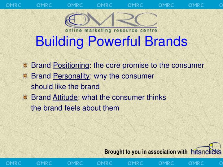 Building Powerful Brands