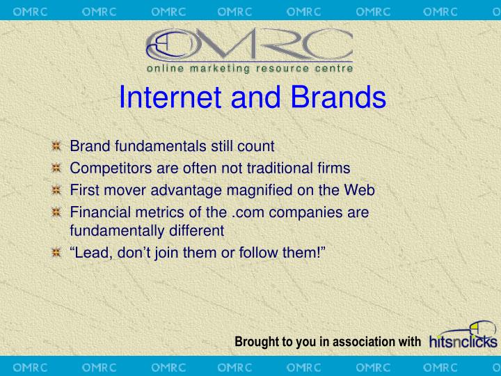 Internet and Brands