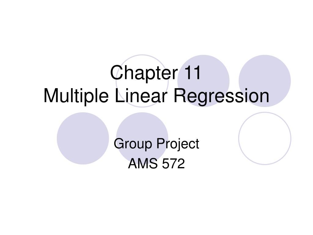chapter 11 multiple linear regression l.