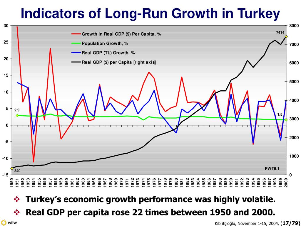 Indicators of Long-Run Growth in Turkey