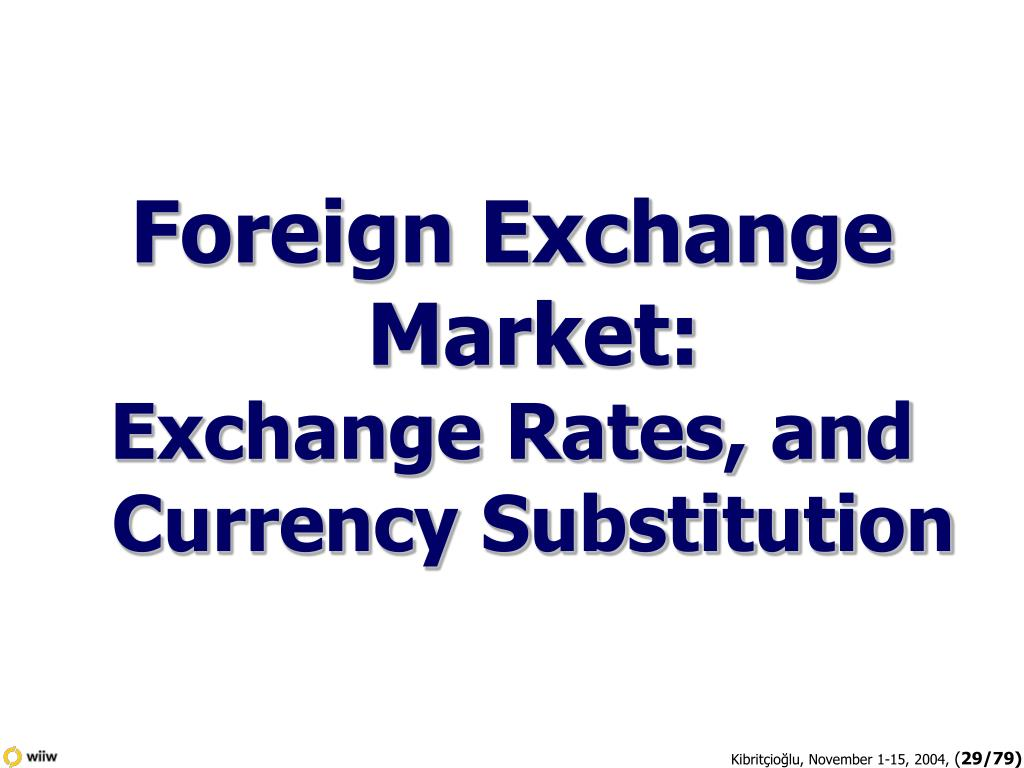 Foreign Exchange Market: