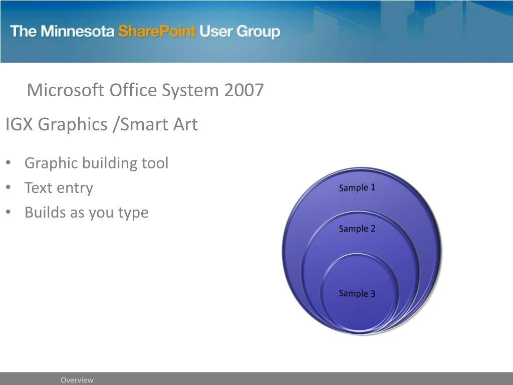 IGX Graphics /Smart Art