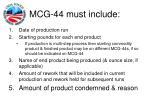 mcg 44 must include41