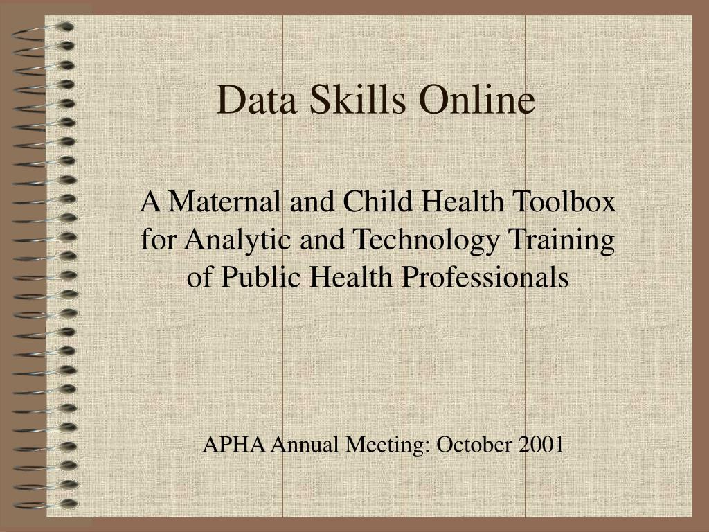 data skills online l.