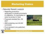 marketing claims22