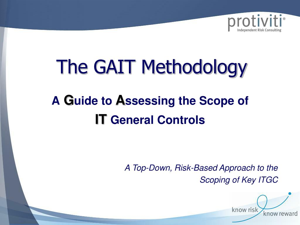 the gait methodology l.