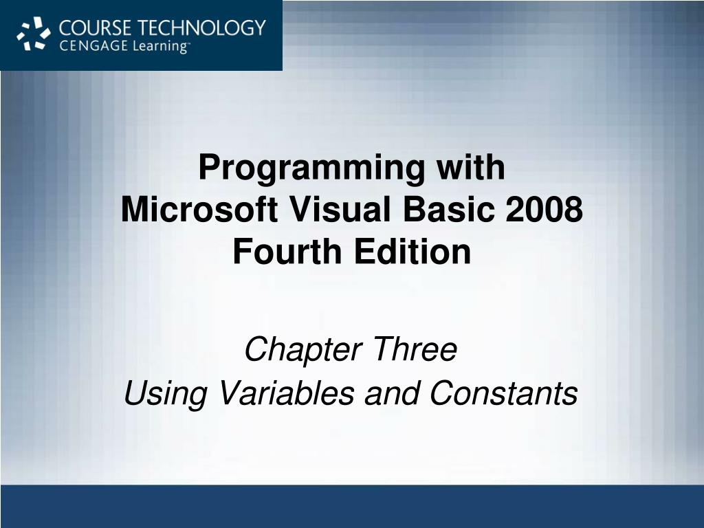 programming with microsoft visual basic 2008 fourth edition l.