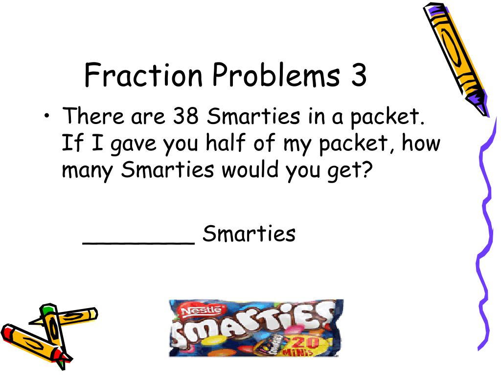 Fraction Problems 3