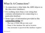 what is a connection
